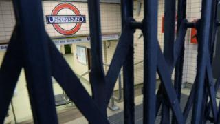 closed tube station