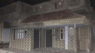 વિરમગામમાં આવેલા હાર્દિક પટેલના ઘરનો ફોટોગ્રાફ
