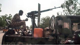 Nijerya güvenlik güçleri