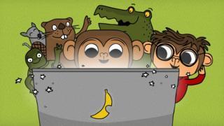 CodeMonkey es una colección de cursos para aprender a programar en un entorno de videojuego.