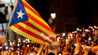 Katalonya eylemler