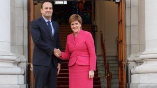 Varadkar and Sturgeon