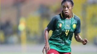 Yvonne Leuko wey be 27 year old Lionne Indomptable player