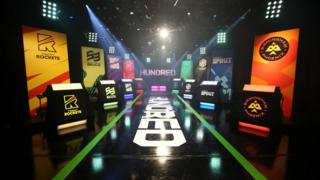 The scene at the draft for The Hundred