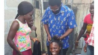 Meya wa Accra Ghana awasuka nyewel wanawake kuvutia wapiga kura