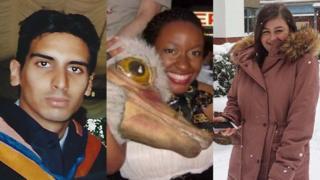 Hamant Verma, Chinelo Awa and Lauren Taylor