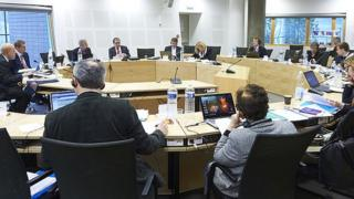 A meeting of the European Committee of Social Rights