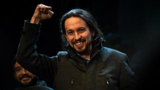 Podemos (We Can) leader Pablo Iglesias