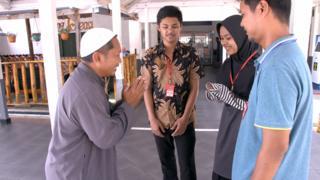 Hassan, terpidana mati pengeboman Kedutaan Besar Australia, Jakarta.