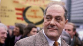 Derek Robinson at the British Leyland plant in 1979