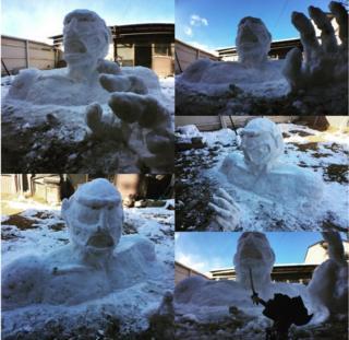Başka bir dev kardan adam