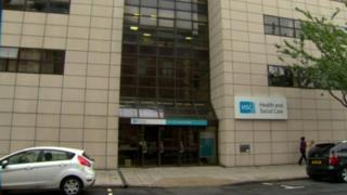 The Health and Social Care Board HQ in Belfast