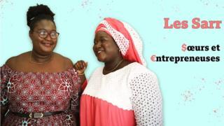 Ramatoulaye et Thiané Sarr, deux sœurs sénégalaises de moins de 30 ans, ont créé leurs marques de produits cosmétiques et capillaires.