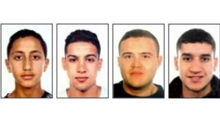 People wey Spain police dey find