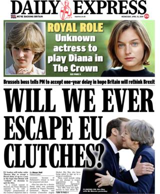 Daily Express Wednesday