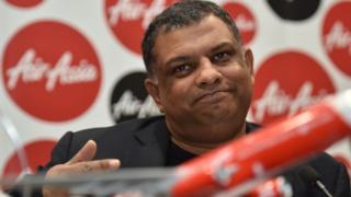 AirAsia's founder Tony Fernandes