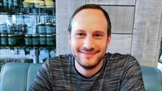 Gig economy worker Daniel Lewis