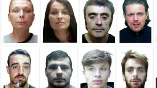 Wanted suspects in Hertfordshire