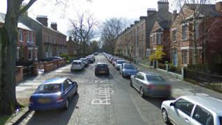 Rugby Road in south Belfast