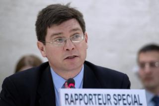 Francois Crepeau, the UN's special rapporteur on the human rights of migrants