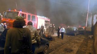 Взрыв в Азазе