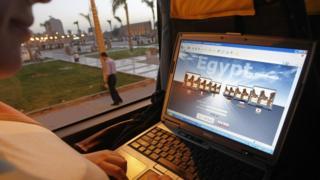Les autorités égyptiennes accusées d'avoir bloqué des sites internet.