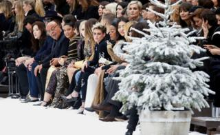 Chanel front row