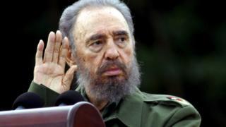 Фідель Кастро в липні 2006