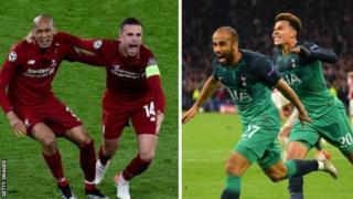 ليفربول وتوتنهام يلتقيان في نهائي إنجليزي خالص لدوري أبطال أوروبا