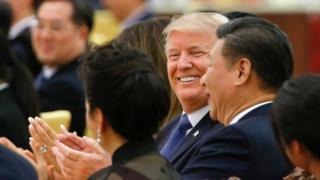 Ông Donald Trump đã có cuộc gặp cấp nhà nước ở Trung Quốc hồi tháng 22/2017