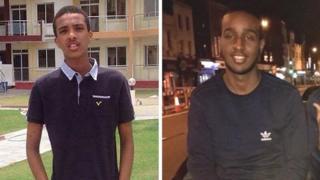 Abdikarim Hassan and Sadiq Aadam Mohamed
