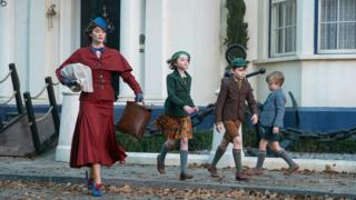 Still from Mary Poppins Returns