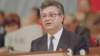 Первый президент Азербайджанской республики Аяз Муталибов