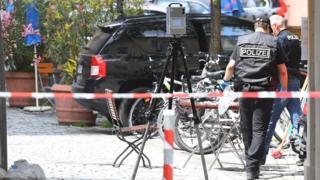 Полиция Ансбаха ведет расследование