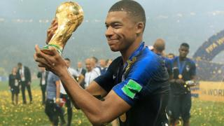 Mbappe dey among shortlist of players wey FIFa nominate to win Di Best Award dis year
