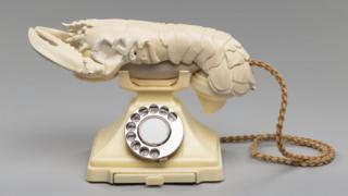Salvador Dalí and Edward James, Lobster Telephone (1938)