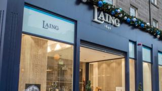 Laing Jeweller in George Street