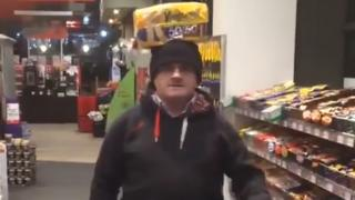 Barry McElduff in video