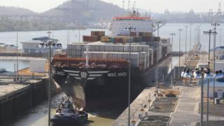 Panama Canal, China