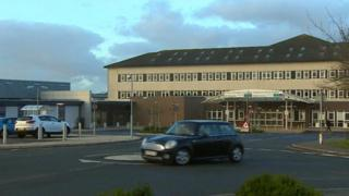 Withybush Hospital in Haverfordwest