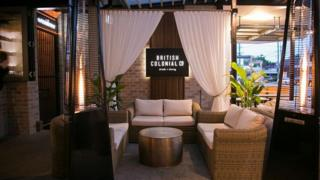 "Brisbane bar and restaurant British Colonial Co offers ""modern refinement in a safari setting"""