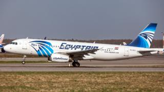 File photo of the EgyptAir Airbus A320-232 (registration SU-GCC), which went missing while flying from Paris to Cairo as Flight MS804 on 19 May 2016