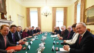 Joint ministerial meeting at Downing Street