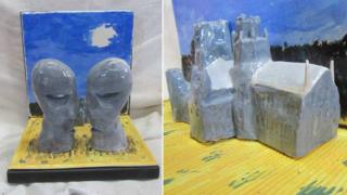 Ceramics version of The Division Bell by Pink Floyd