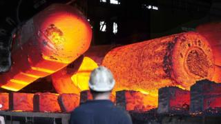 The Forgemasters Works in Sheffield