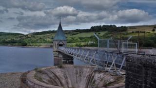 The Pontsticill Reservoir