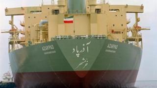 نفتکش ایرانی آذرپاد تحت تحریم های ایالات متحده قرار گرفته است