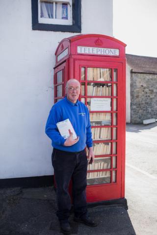 Free lending library in Kinnesswood