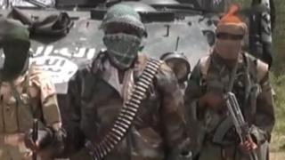 Boko Haram militants - archive shot