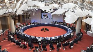Reunião do clima na OCDE